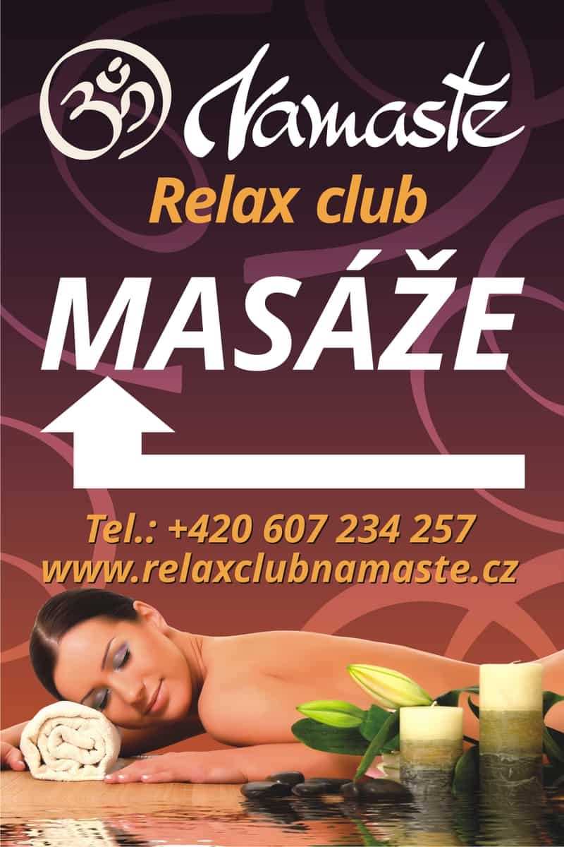 Adresa a vstup Relax club Namasté